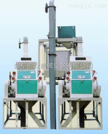 面粉加工成套设备,6KY-40P型成套小麦磨粉机