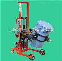带打印300kg油桶搬运车电子称,微型打印倒桶车秤供应商
