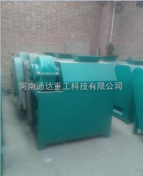 黑龙江大庆复合肥对辊挤压造粒机价格**对辊挤压造粒机无需烘干造粒漂亮