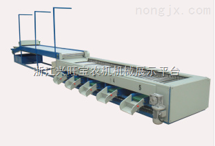 单转子分级机,蔬果分级机,打散分级机,脐橙分级机,供应FLG-2000高效螺旋分级机