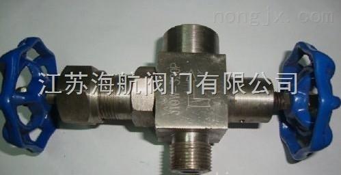 J19W-320P,J19W-320R不锈钢压力表针型阀