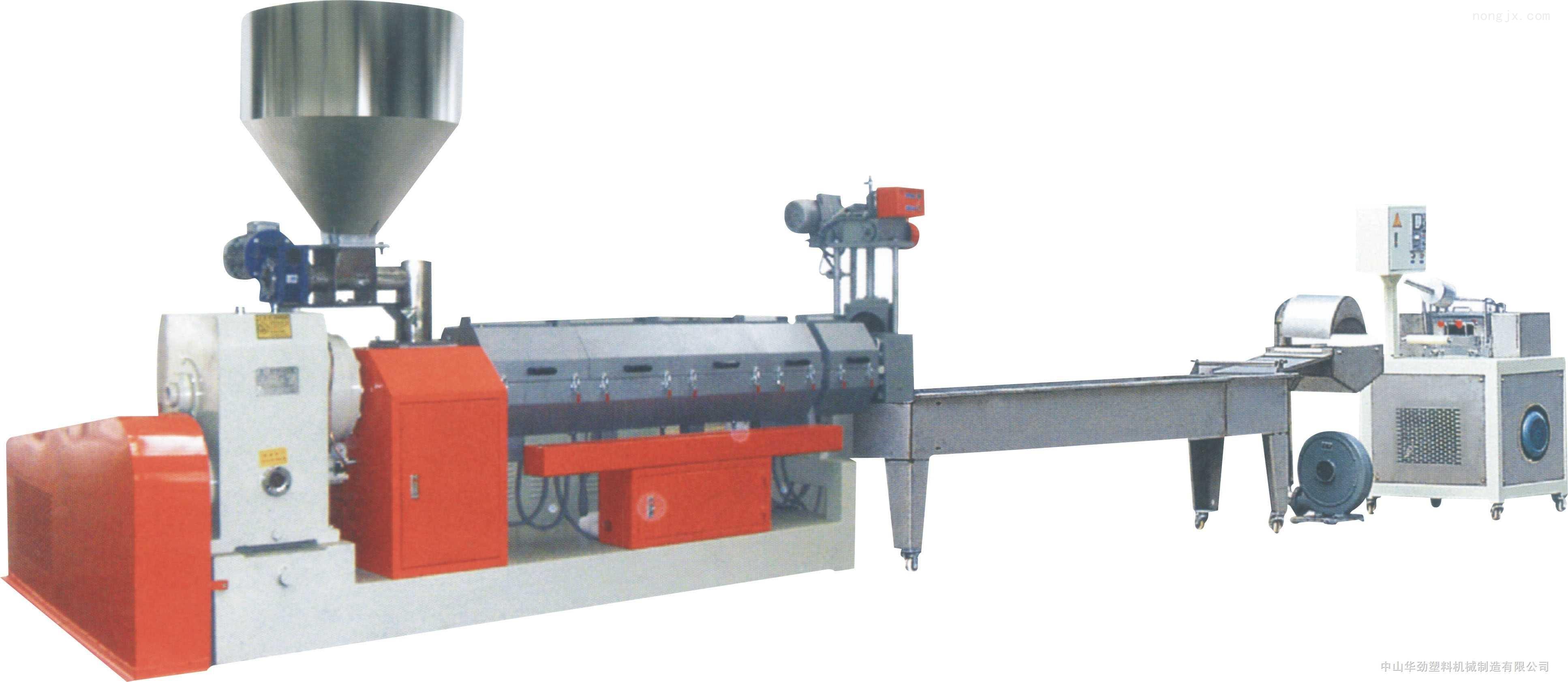 厂家直销,品质保证 PE直切式水下切粒挤出造粒机组 GG2-130/125