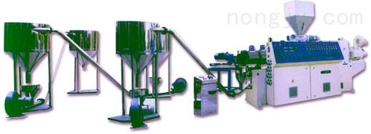 厂家直销,品质保证 PE直切式水下切粒挤出造粒机组 G19-150/140