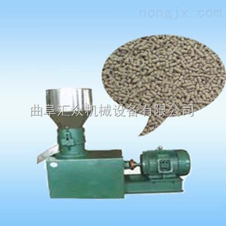 轴式鸡饲料颗粒机 牧草制粒机 秸秆粉造粒机