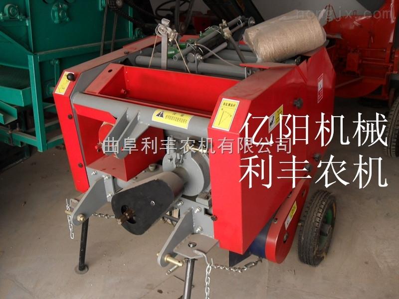 拖拉机带秸秆打捆机行情  宝鸡玉米秸秆打捆机