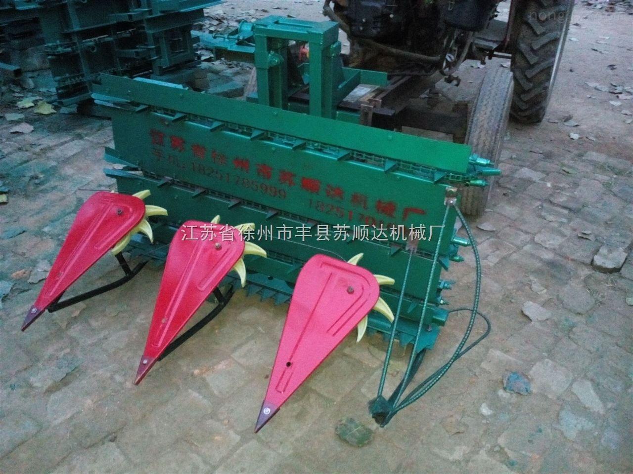 小型玉米割晒机生产厂家