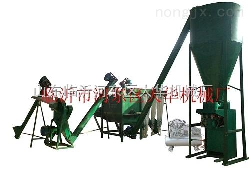复混肥生产设备机组含粉碎机输送机搅拌机包装机降压启动柜