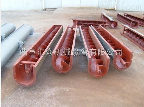 槽型螺旋式喂料机,U型管式水泥输送机