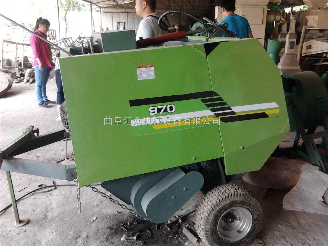 自动捡拾麦秆圆捆机,稻草打捆机,碎玉米秆圆捆机