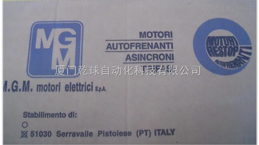 意大利MGM刹车电机及刹车片BM90LB8*