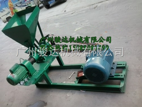 广东罗非鱼饲料膨化机 小型颗粒饲料膨化机价钱