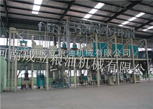 日处理小麦30-80吨系列成套面粉加工设备