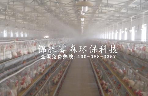 成都养殖场喷雾降温-圈舍喷雾降温设备-禽舍降温