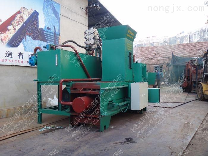 玉米芯液压打包机玉米芯压块机鸣宇专业生产