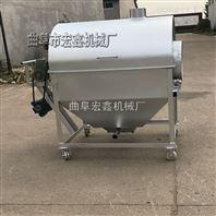 燃气加热花生炒货机 拌和均匀花生炒货机 多功能花生炒货机厂家