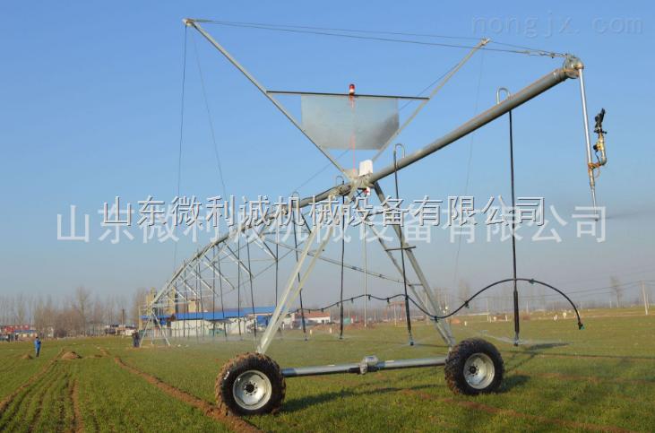 电动平移式喷灌机
