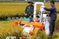 水稻收割小型松土机