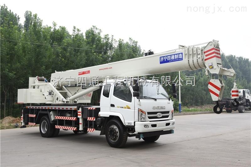 油電兩用 四通16噸吊車報價實惠及性能優越