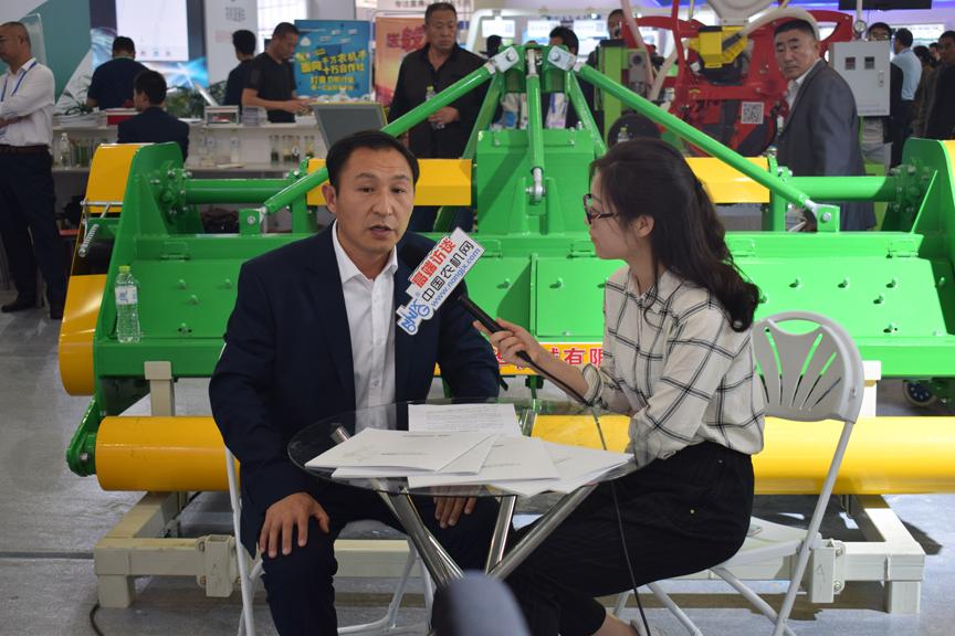 深耕耕整地机械领域 争做中国高端农机具领跑者